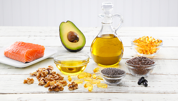 fats and oils Saturated fats are also in palm and coconut oils, which are often used in baked goods you buy at the store eating too much saturated fat can raise blood cholesterol levels and increase the chance of getting heart disease.