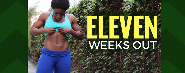 11 Weeks Out Figure Contest Prep: Cardio, Cravings, and Contest Prep