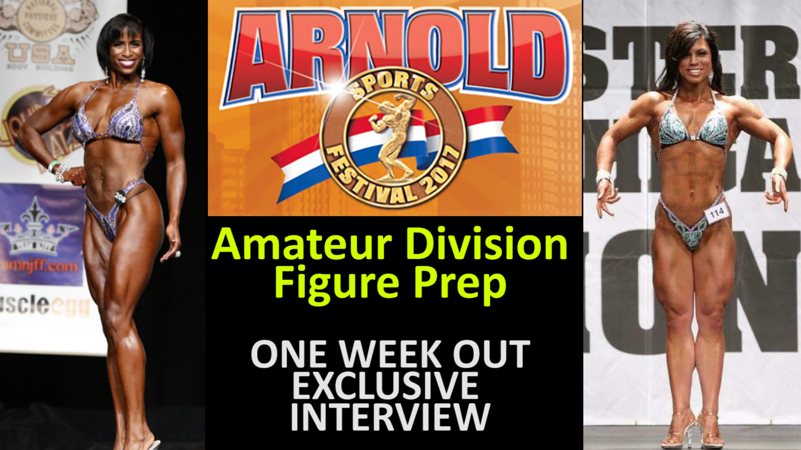 Getting Ready for the Arnold Amateur - 2 Figure Competitors Ready to Shine