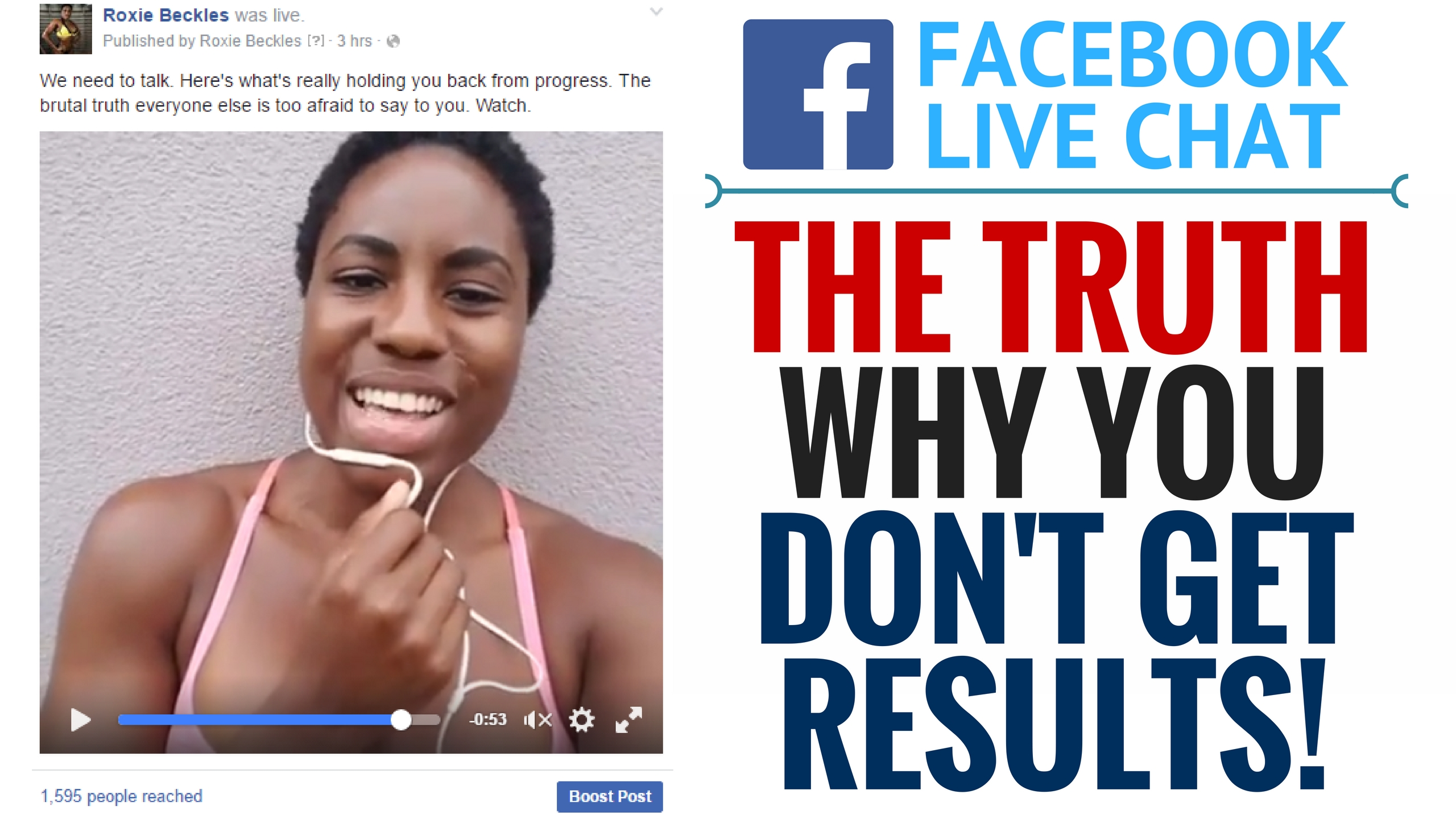 The TRUTH Why You Aren't Getting Fat Loss Results