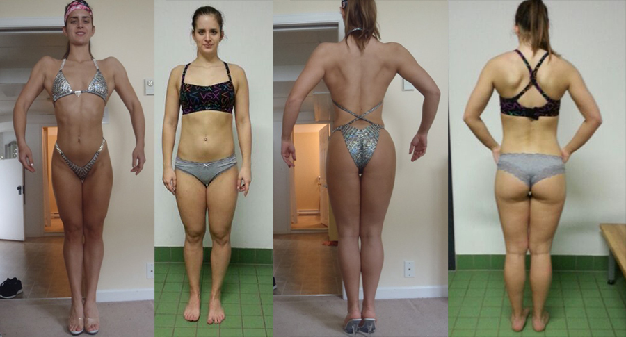 Competition Prep Client located in Slovenia. We prepped her entire program and provided posing/presentation posing as well.