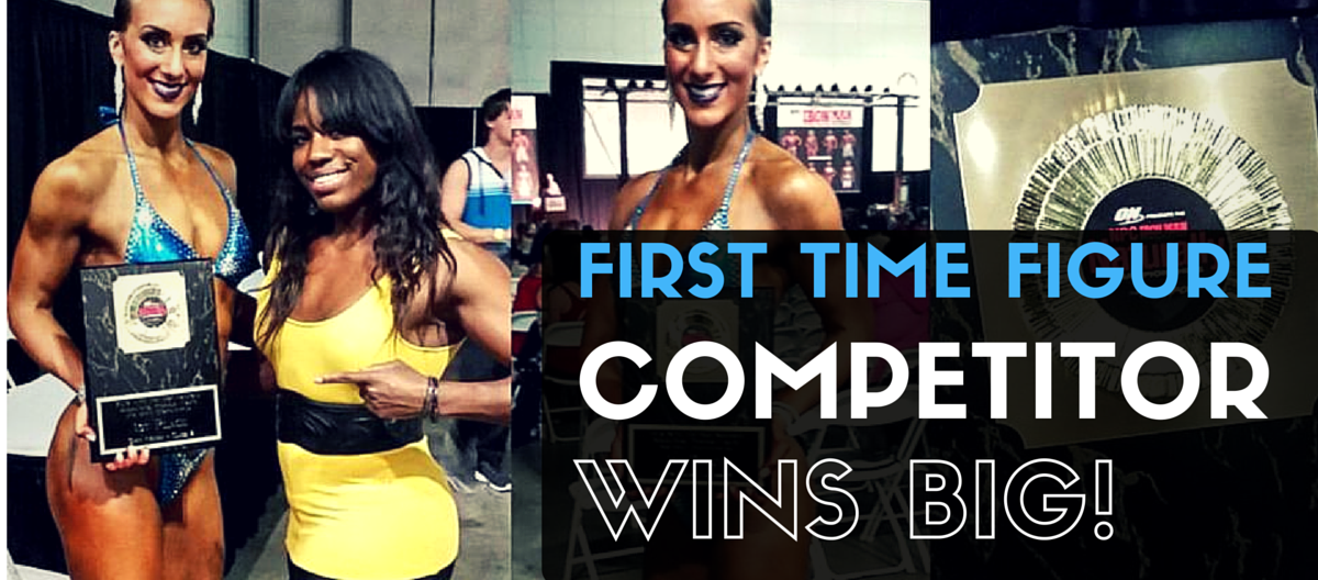 First Time Figure Competitor Wins and Claims Her Victory!