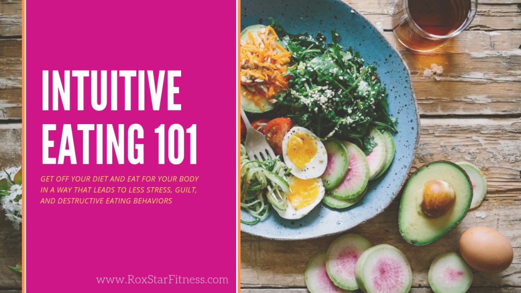 Intuitive Eating 101: Get Off Your Diet and Eat For Your Body