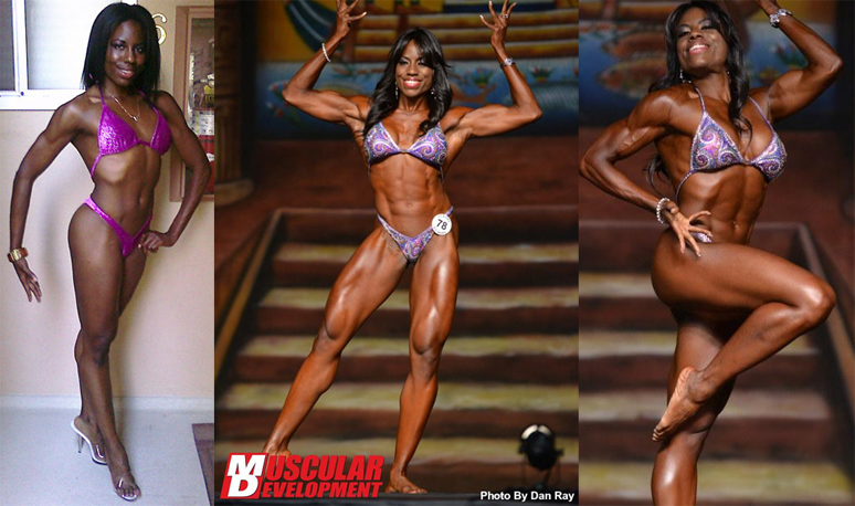 From right before my first show ever (figure) to my PROFESSIONAL DEBUT as an IFBB Women's Physique Pro.