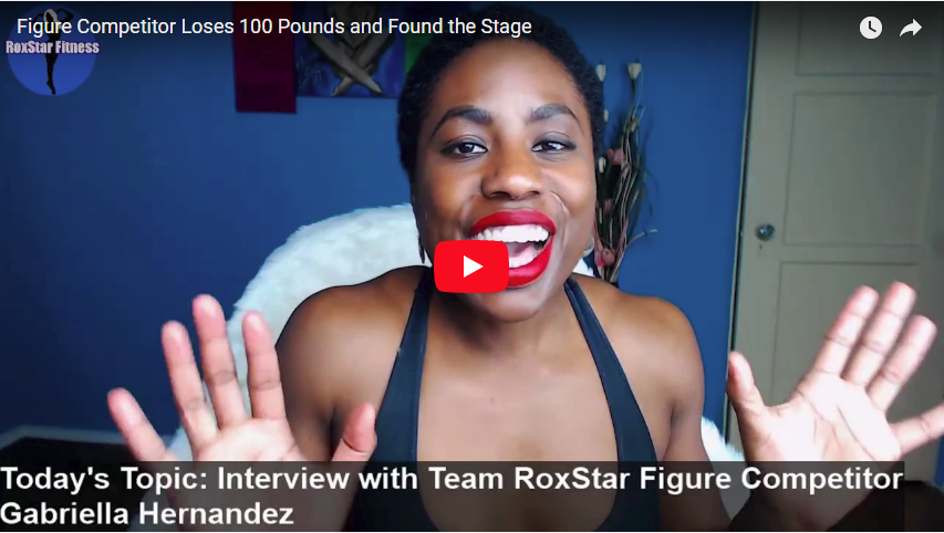 Figure Competitor Loses 100 Pounds and Finds the Stage