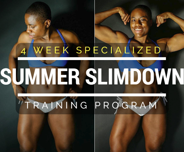 My NEW Summer Slim Down Training Program - You Can Try it Too!