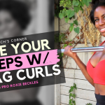 Drag Curls - Exercise for Fuller Toned Biceps and Strong Arms for Women