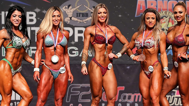 wellness division in the IFBB international
